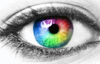 Colorful Eye - eye colorful vision