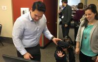 Dr. Tuan Tran conducting demos - tuan tran vivid vision virtual reality vision therapy high resolution