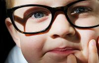 child with eyeglasses - childrens vision eyeglasses high resolution